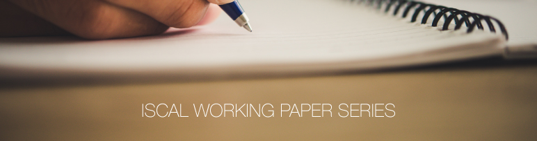 ISCAL WORKING PAPER SERIES sp